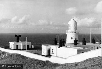 Pendeen, Pendeen Watch Lighthouse c1955