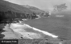 Pendeen, Portheras Beach And Boat Cove c.1955
