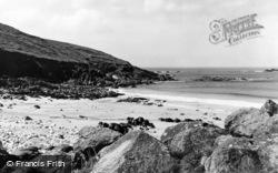 Pendeen, Portheras Beach c.1955