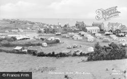 Pendine, Caravan Site c.1955
