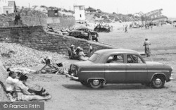 Pendine, Cars On The Sands c.1955