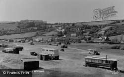 Pendine, The Camping Ground c.1955