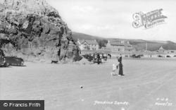 Pendine, The Sands c.1955