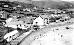 Pendine, The Village c.1955