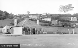 Pendine, Windsor Cafe c.1955