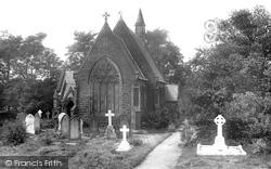 Pendleton, All Saints Church 1921