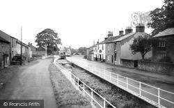 Pendleton, The Village c.1955