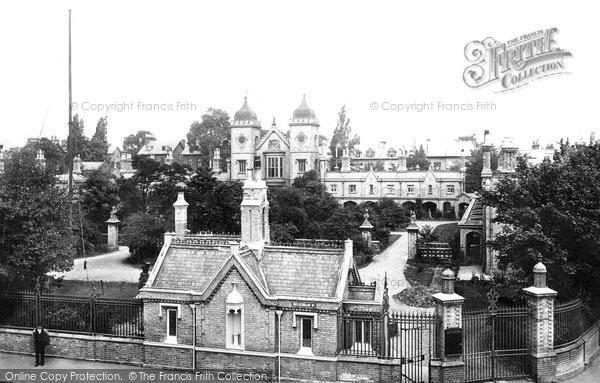 Photo of Penge, Waterman's Almshouses 1899