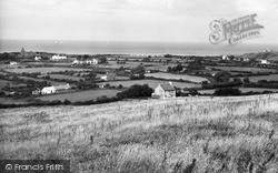View Over Eilian Bay c.1960, Pengorffwysfa