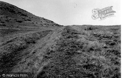 Penicuik, Castle Law, Glencorse, Outer Ditch 1955
