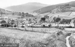 General View c.1955, Penmachno