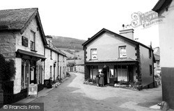Penmachno, Singing Kettle And Village c.1955