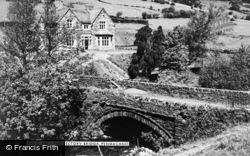The Rectory Bridge c.1960, Penmachno
