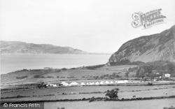 Penmaenmawr, Boy's Brigade Camp c.1930