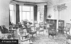 Penmaenmawr, Bryn Hedd, C Of E Holiday Home, Drawing Room c.1960