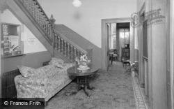 Penmaenmawr, Bryn Hedd, Church Of England Holiday Home, Entrance Hall c.1951