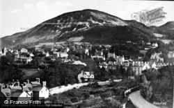 Penmaenmawr, General View From Grand Hotel c.1931