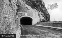 Penmaenmawr, Penmaenbach Tunnel c.1935