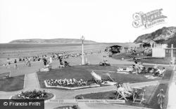 Penmaenmawr, Promenade And Beach c.1960