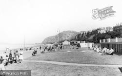 Penmaenmawr, Promenade c.1930