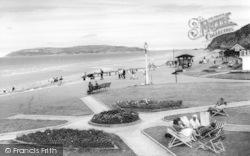 Penmaenmawr, Promenade c.1955