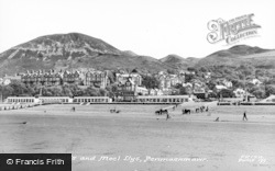 Penmaenmawr, Sands And Moel Llys c.1960