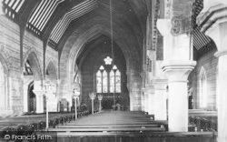 Penmaenmawr, St Seiriol's Church, Nave East 1887