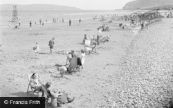 Penmaenmawr, The Beach 1951