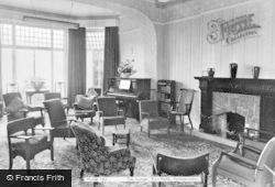Penmaenmawr, The Lounge, Bryn Hedd c.1955