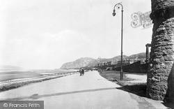 Penmaenmawr, The Promenade 1932