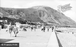 Penmaenmawr, The Promenade c.1955