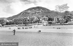 Penmaenmawr, The Sands And Moel Llys c.1960