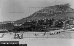 Penmaenmawr, View From The Beach c.1948