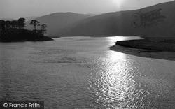 Penmaenpool, Afon Mawddach c.1958