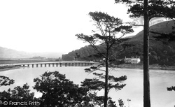 Penmaenpool, The Bridge 1888