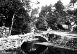 Penmaenpool, The Bridge 1888