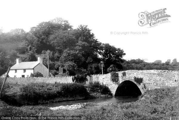 Photo of Penmark, The Bridge 1937