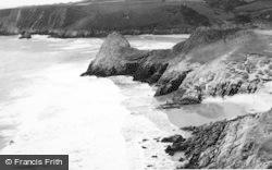 Pennard, Pobbles Bay c.1960