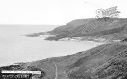 Pennard, Pwll-Du Bay c.1960