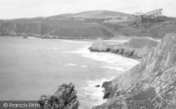Pennard, Three Cliffs Bay c.1960