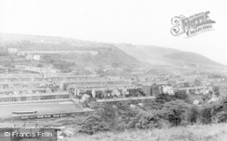 Penrhiwceiber, General View c.1965