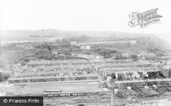Penrhiwceiber, General View Of Glasbrook Football Ground c.1960