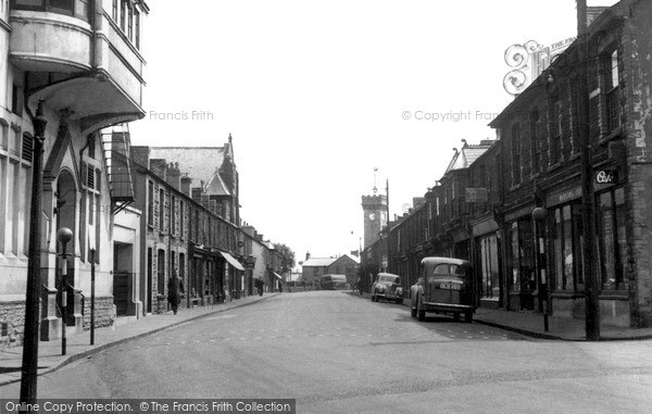 Penrhiwceiber, Penrhiwceiber Road c1955