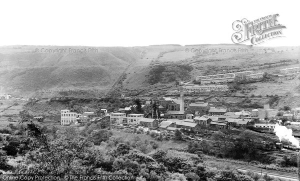 Penrhiwceiber, the Colliery c1960