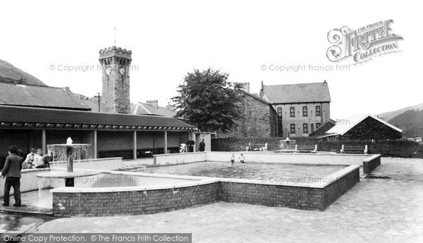 Penrhiwceiber, the Swimming Pool c1960