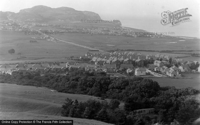 Photo of Penrhyn Bay, And Little Orme c.1939