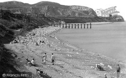 Penrhyn Bay, Beach c.1939