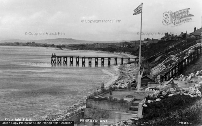 Photo of Penrhyn Bay, c.1939