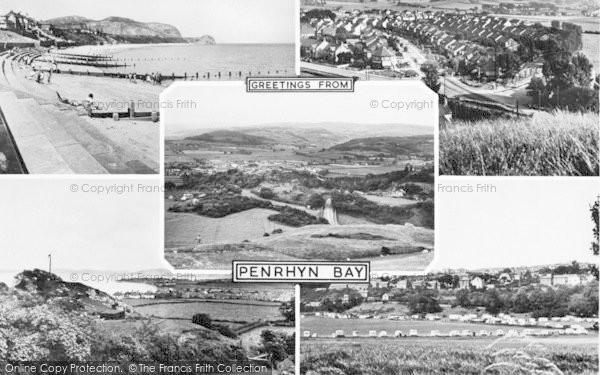 Photo of Penrhyn Bay, Composite c.1955