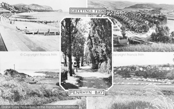 Photo of Penrhyn Bay, Composite c.1955